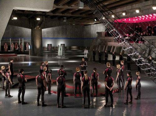 The Hunger Games Training Room Flooring